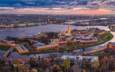 Rusko   Petrohrad_Peter and Paul Fortress