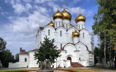 Rusko | Jaroslavl_Cathedral of the Dormition