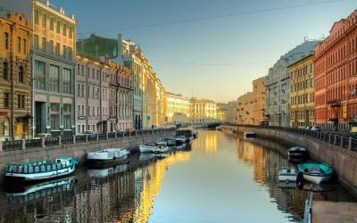 Rusko | Petrohrad_Neva River