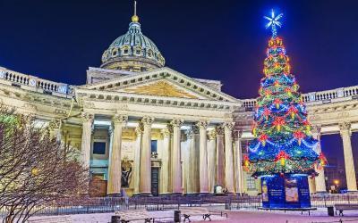 Rusko | Petrohrad_Kazan Cathedral