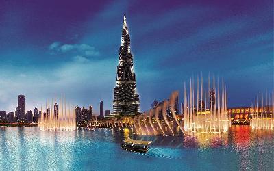 SAE | Dubaj_Fountain