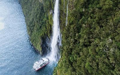 Nový Zéland | Milford Sound_Stirling Falls