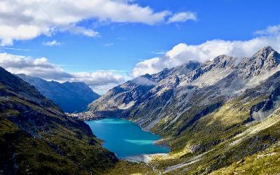 Nový Zéland | Nelson Lakes National Park_Lake Constance