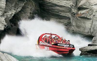 Nový Zéland | Shotover River_Jet