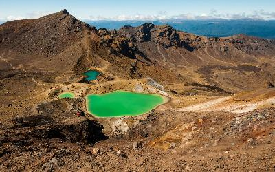 Nový Zéland | Tongariro_Emerald Lake