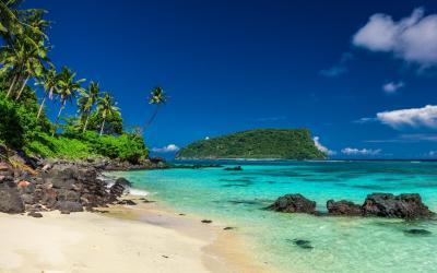 Lalomanu beach on Samoa | Samoa