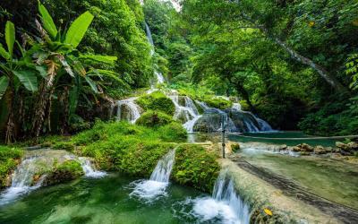 Mele Maat Cascades in Port Vila | Vanuatu