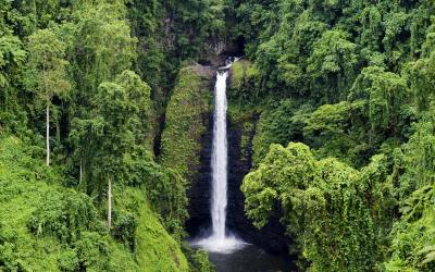 Waterfall in Samoa | Samoa