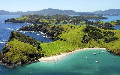 Nový Zéland   Auckland_Bay of Islands