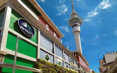 Nový Zéland   Auckland_Sky Tower
