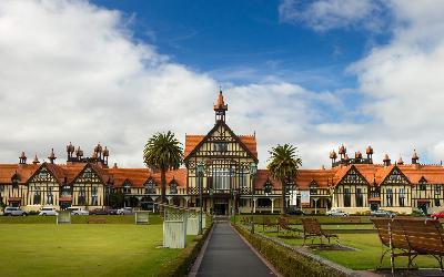 Nový Zéland   Rotorua City