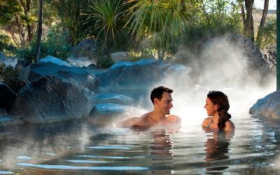 Nový Zéland   Rotorua_Thermal Pool