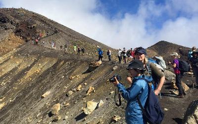 Nový Zéland   Tongariro_Volcano