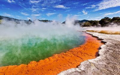 Nový Zéland   Wai-O-Tapu