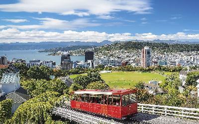 Nový Zéland   Wellington_Cable Car