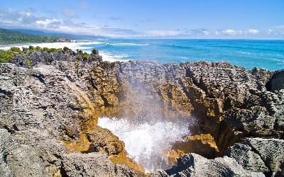 Nový Zéland | Punakaiki_Pancake_Rocks