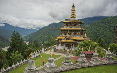 Bhután   Khamsum Yulley Namgyal Chorten