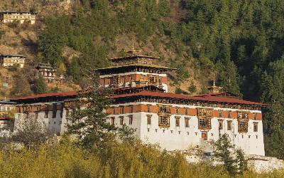 Bhután   Paro Dzong