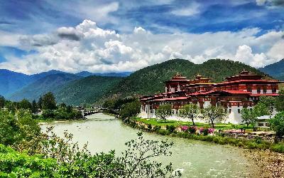 Bhután   Punakha