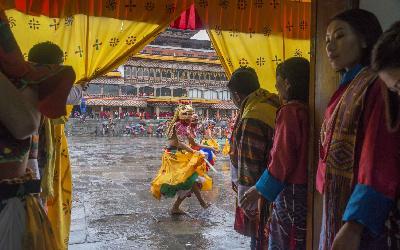 Bhután   Thimphu_Festival