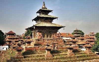 Nepál   Kathmandu_Durbar Square