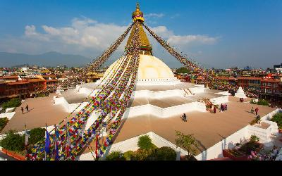 Nepál | Kathmandu_Boudhanath Stupa