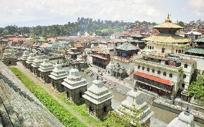 Nepál | Pašupatináth