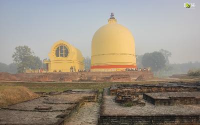 Nepál | Kushinagar_Parinirvana Stupa