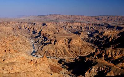 Namíbia   Fish River Canyon