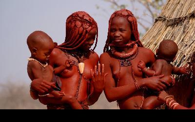 Namíbia   Himba