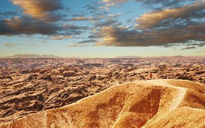 Namíbia   Moon Landscape