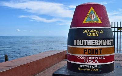 Key West - nejjižnější bod USA