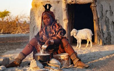 Namibie | Himba dívka