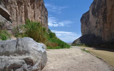 USA   Big Bend NP - Santa Elena Canyon