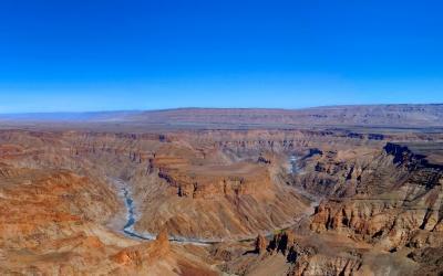 Namibie | Fish River Canyon - druhý největší kaňon světa