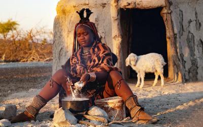 Himba dívka