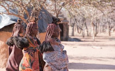 návštěva Himbů