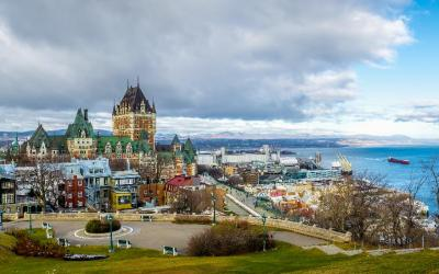 Kanada   Quebec City - Chateau Frontenac