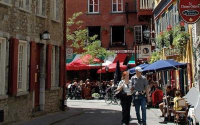 Kanada   Quebec City - staré město
