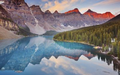 Kanada   Moraine Lake