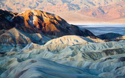 Death Valley NP - Zabriskie Point