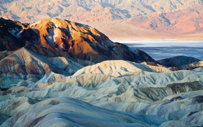 USA | Death Valley - Zabriskie Point
