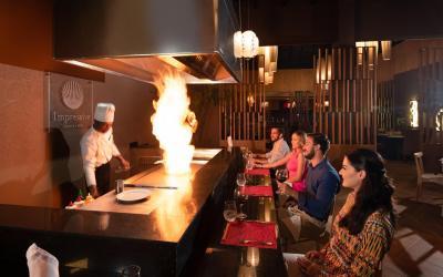 Yakimeshi live cooking