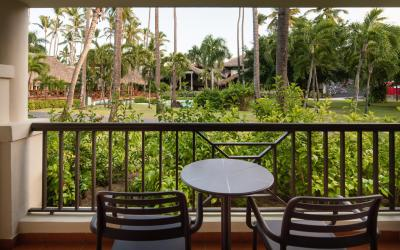 Tropical View Balcony