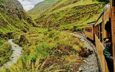 Vlak Alausí - Sibambe 1