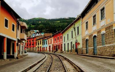 Vlak Alausí - Sibambe 2