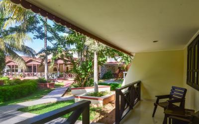 Berjaya-Praslin-Resort-Deluxe Room Entrance