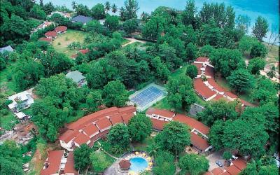 Berjaya-Praslin-Resort-Resort Aerial Seaview