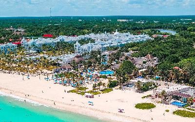 Reef Playacar Aerial View