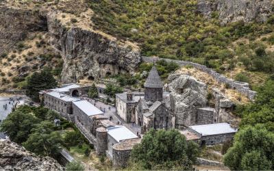 klášter Gerhard, UNESCO   Arménie